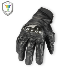 High quality custom made leather motorcycle racing gloves ce