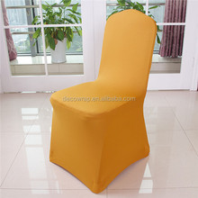2015 latest design fashionable high-grade wholesale spandex stretch fabric banquet chair cover seat covers