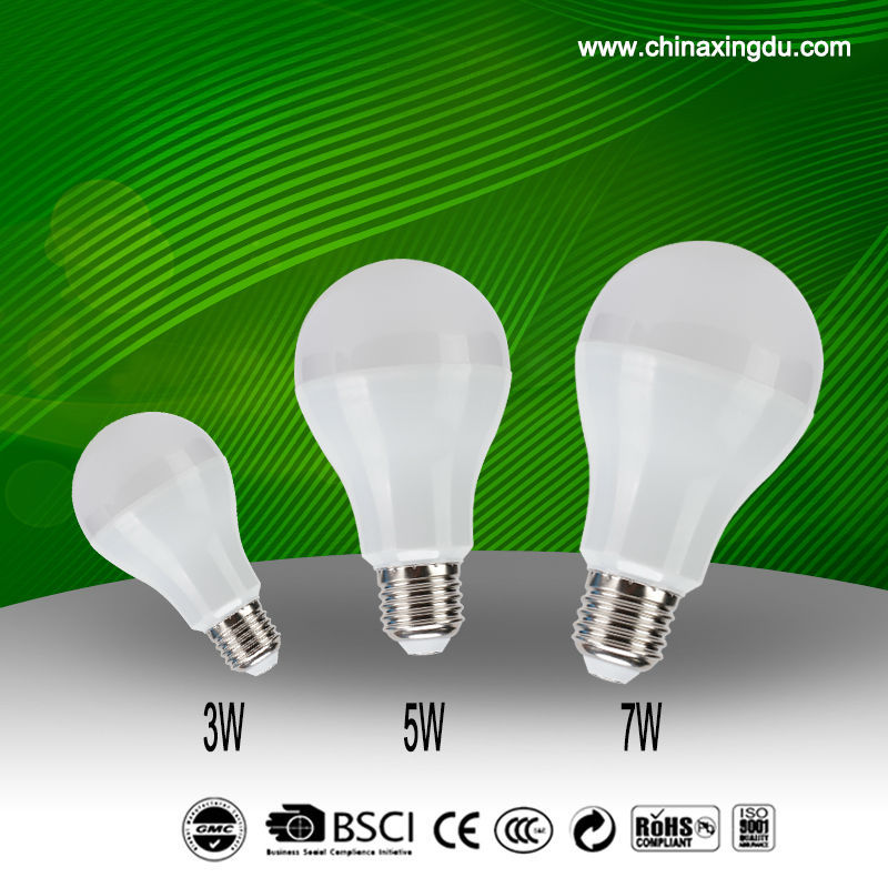 3w-12w led bulbs for housing and office use with CE ROHS 3C ERP,2016 new price led bulb