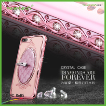 2016 Best Selling Original Design Luxury OEM Diamond TPU Stand Back Cover Boost Mobile Case for iPhone 5s