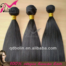 Natural Looking Brazilian Virgin Hair Human Ponytail Hair Extension For Black Women