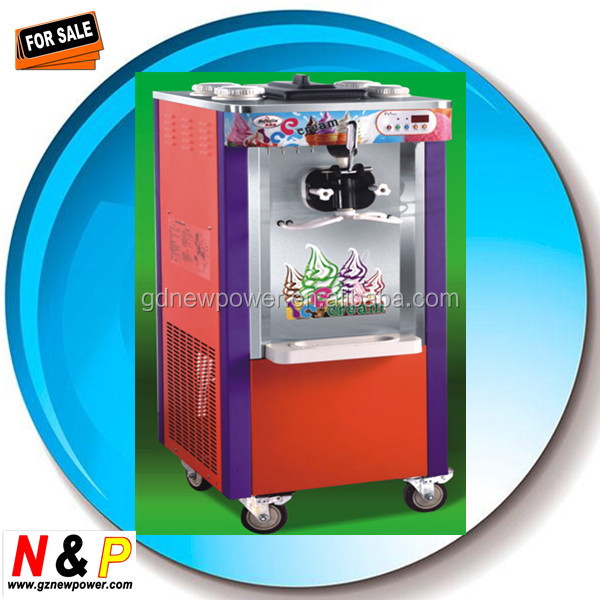2015 low price on sales promotion ice cream and yogurt making machine for home or commercial use