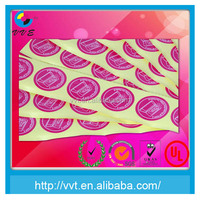 Self Adhesive Mirror Coat Sticker Paper
