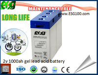 2v 1000ah lead acid gel solar system battery storage battery 2v solar batteries 1000ah house using solar lighting