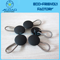 High Quality mental cord fastener button extenders for men's shirt