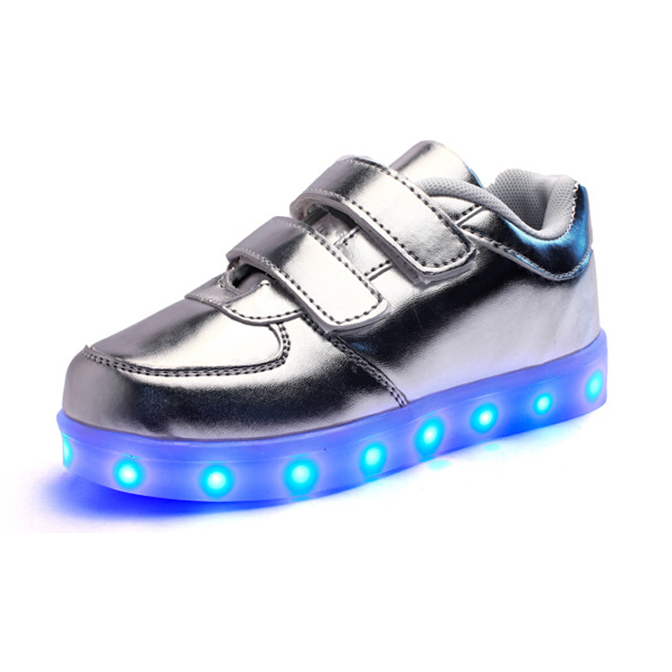 Professional Rechargeable Kids Led Light Up Running Shoes