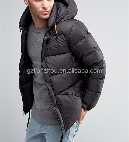 China Supplier OEM Clothing Wholesale Good Quality Men Quilted Jacket Fashion Winter Jacket