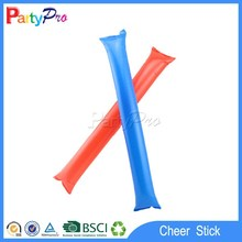 wholesalers China factory colorful party favor special round shape led light up candle PE cheer thunder stick custom