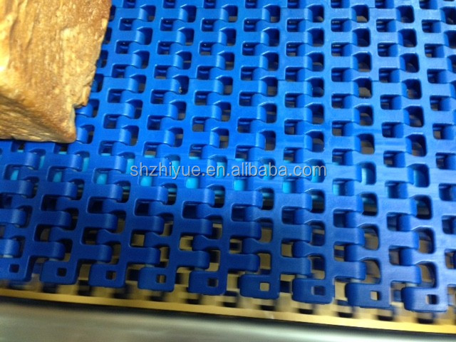 2540 Plastic flexible flush grid transmission beltings