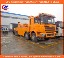 Heavy duty Faw Dongfeng Shacman Howo tow and Lift Wrecker truck