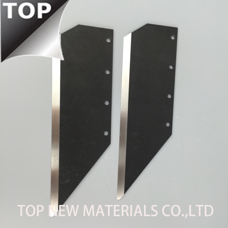 Chemical CoCrW cobalt alloy fiber cutting blades