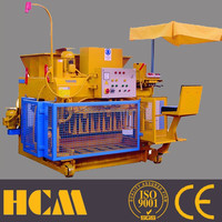 sand brick making machine QMY6-25 manual concrete hollow block mold cement making machinery