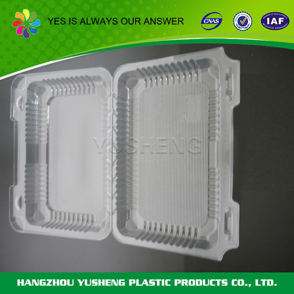 Promotional custom disposable macaron clamshell packaging