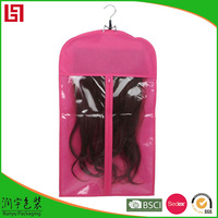 Custom Luxury Hair Hangers Storage Carrier Hair Extension Packaging