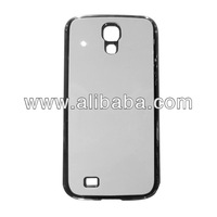 High quality blank sublimation soft TPU phone case for samsung galaxy S4 with metal sheet