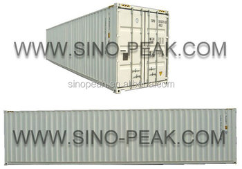 40feet high cube container