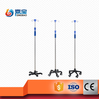 Hospital Iv Drip Stand Infusion Equipment
