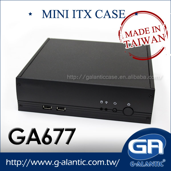 GA677 - Industrial pc case ,mini-itx case,mini itx aluminum case