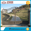 new products of steel tubular grill design gate/iron grill window door designs/iron fancy gate boundary wall gate design
