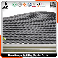 Cheap Colorful 3-Tab Asphalt Shingle Roofing Tile/Roofing Materials for Poultry Houses