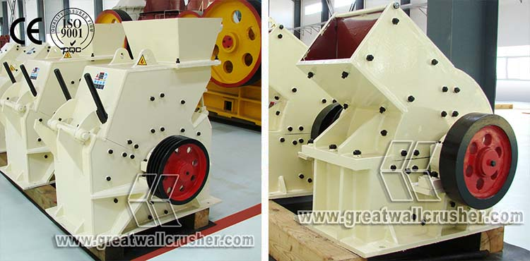 High Efficient Barite PC 400 x 300 hammer crusher Coal Small Hammer Crusher