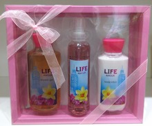 Nature Essence Body Care Perfume/Bubble Bath Gift Set for Christmas