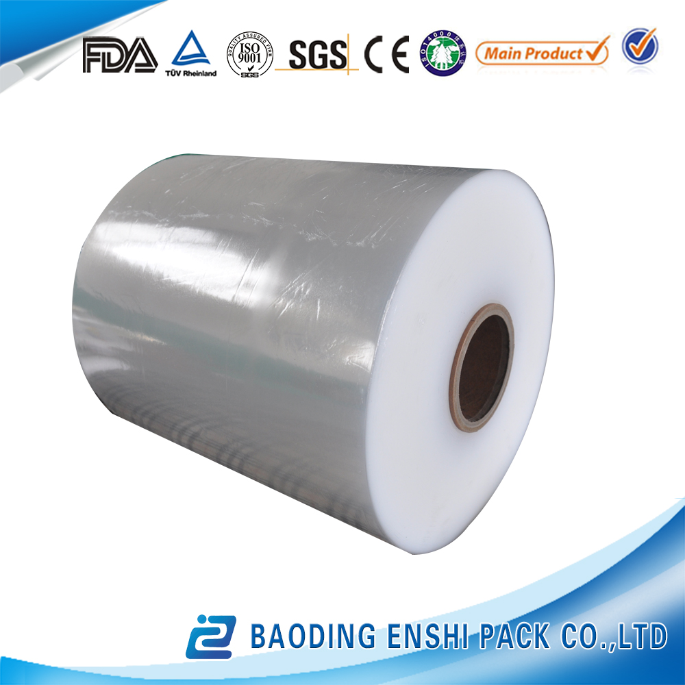 High quality and safety transparent best fresh hot blue Jumbo roll cling film 5000m