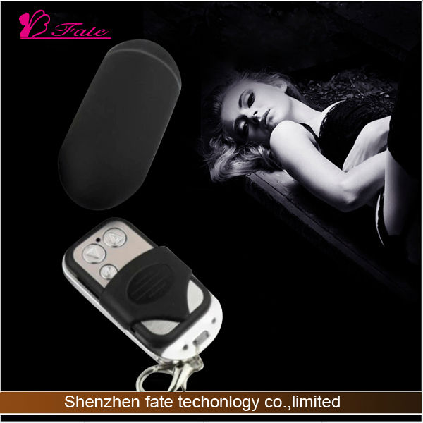 2014 Remote control masturbation egg vibrating hands free dildo