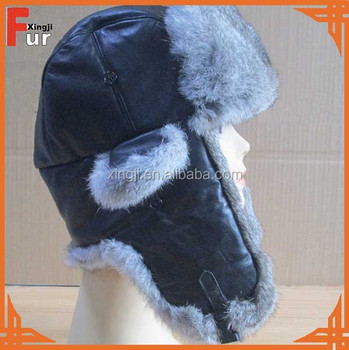 Top quality rabbit fur fashion winter hat