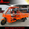 cabin two passenger beside driver three wheel motorcycle/ trimotos sale for passenger