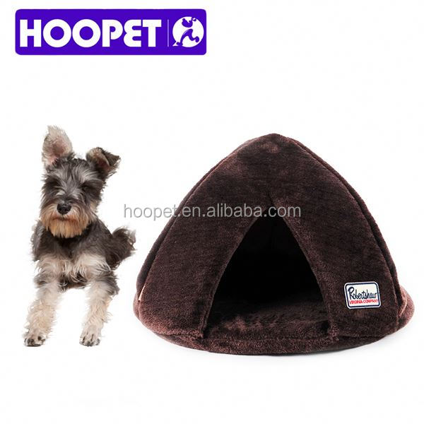 Pets supplies dog products private label slipper pet bed dog cave beds