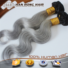 virgin unprocessed gray hair extension hair weave bundles names of human hair