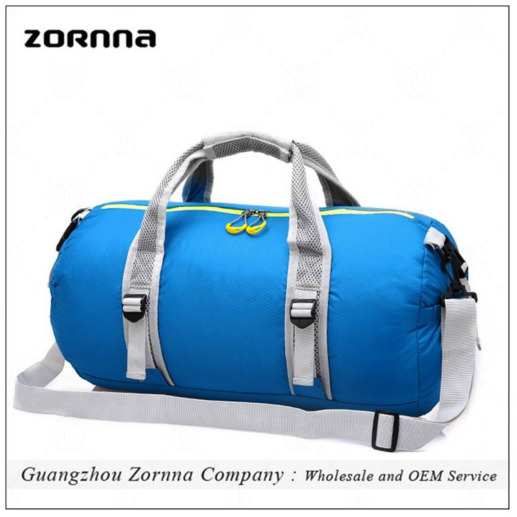 Leisure Outdoor Sport Waterproof Material Rolling One Day Travel Oem Duffle Bag
