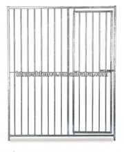 Dog Kennel Run Door Panel 1.5 x 1.84m Galvanised 8cm Tubelar Dog Cage