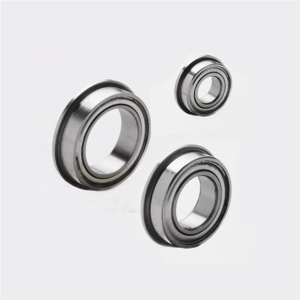 stainless steel flanged ball bearing SMF104ZZ 4*10*4mm