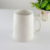 600cc 21oz big white beer drinking cup porcelain cool logo glaze china supplier bistro bar custom wholesale ceramic beer mug