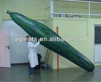 inflatable cucumber replica, inflatable vegetables S6013
