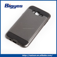 Wholesale hot sale 2 in 1 custom stylish TPU+PC mobile phone prime silicone bumper case cover supplier for iphone 5