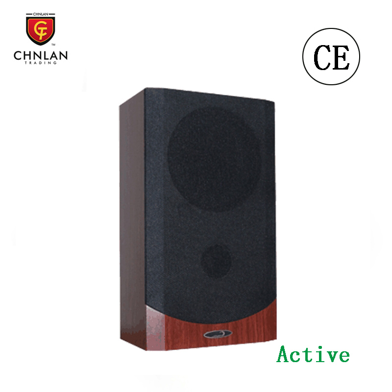 "CL931 15w PA system 6.5"" 100v wooden active wall mount speaker"