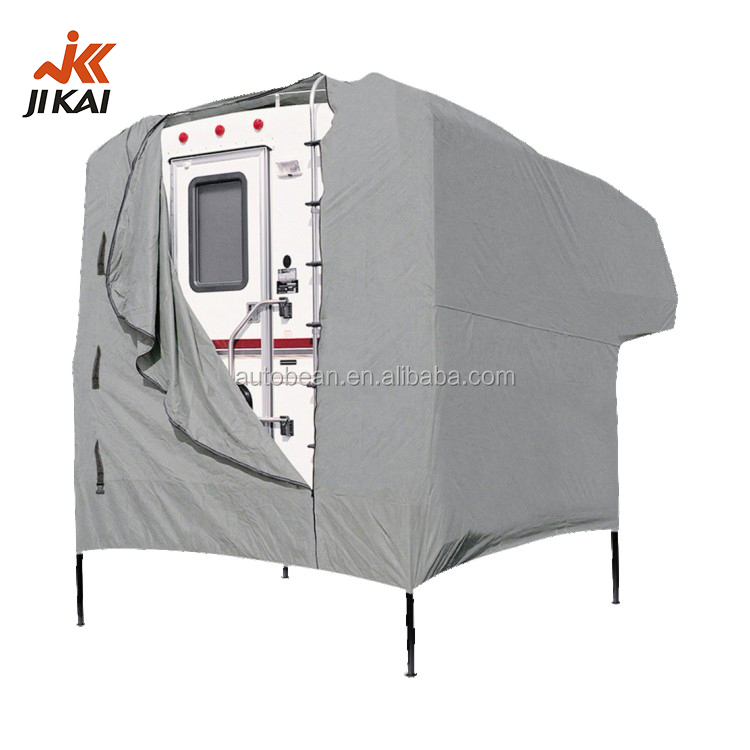 Truck camper cover motorhome waterproof 8' to 10' custom RV cover for sale