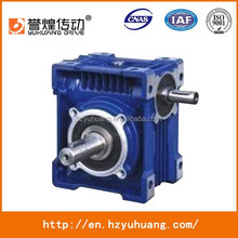 right angle gearbox RV worm speed reducer