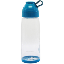 Promotion low MOQ customized logo plastic smart water bottle sizes
