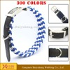 custom printed dog collar logo fashion quick release dog collar