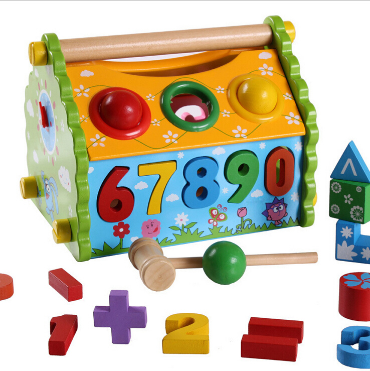 Funny House DIY Educational Wooden <strong>Toys</strong> For Kids Playing