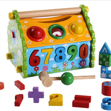 Funny House DIY Educational Wooden Toys For Kids Playing