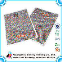 Gold supplier China printer Lamination 4c and panton china offset samples leaflet printing