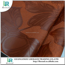 hot sell raw leather material pvc synthetic leather for luggage and jewelry box making