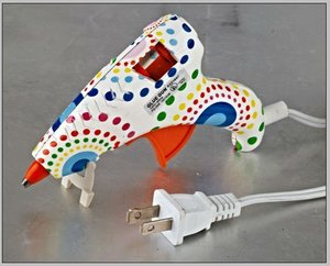 10W MINI Figure printed glue gun