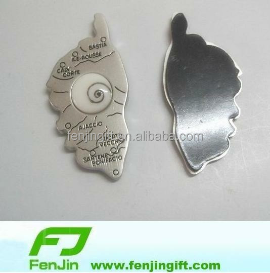 manufacture metal Corsica souvenir fridge magnet with Shiva eye