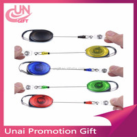 Promotional Gift Customized Retractable Pull Reel Badge For Working Card Holders